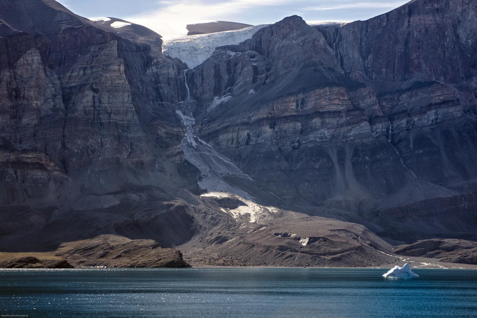 Kaiser-Franz-Josef-Fjord in Grönland