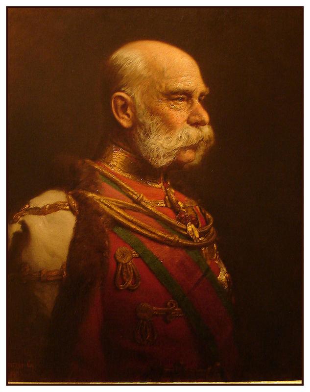 Kaiser Franz Josef v Österreich (ehemals - finde ein gutes altersportrait!)