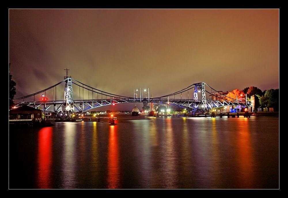Kaiser-Wilhelm-Brücke by Night