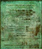 Kaiser Wilhelm Denkmal - Daten