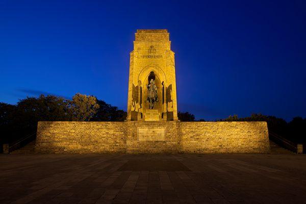 Kaiser Wilhelm Denkmal – Drei Ansichten – Kaiser Wilhelm I.