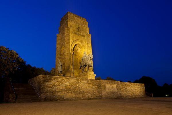 Kaiser Wilhelm Denkmal – Drei Ansichten – Moltke