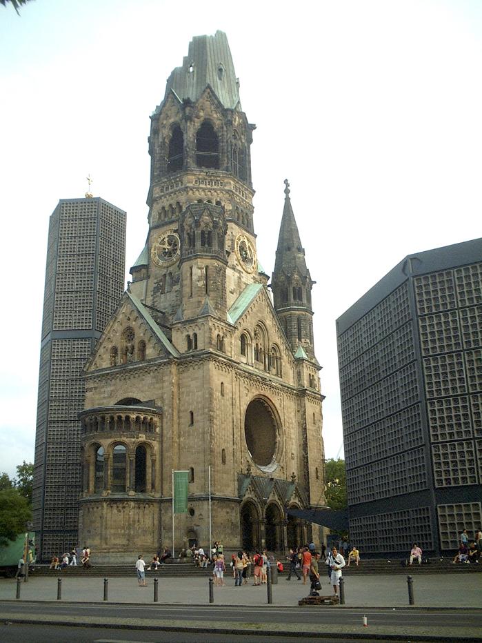 kaiser wilhelm ged chtniskirche berlin foto bild architektur lost places motive bilder auf. Black Bedroom Furniture Sets. Home Design Ideas