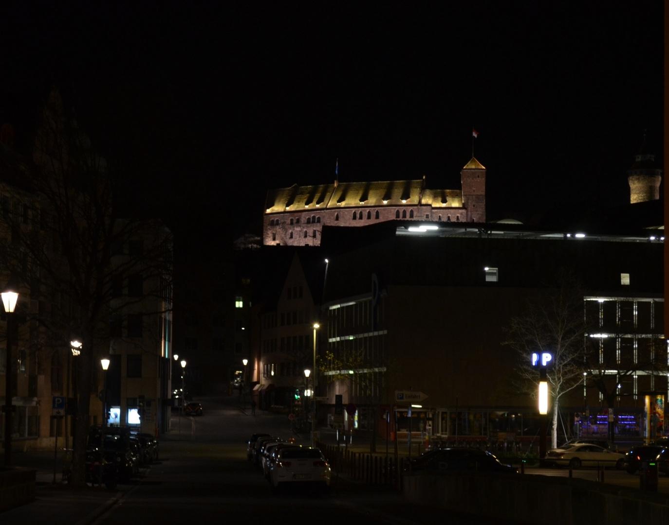Kaiserburg Nachtaufnahme