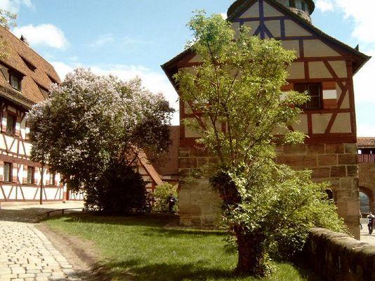 Kaiserburg Nuernberg Innenhof
