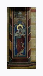 "Kaiserdom "" Wandmalerei, von Moses (19 Jht )"