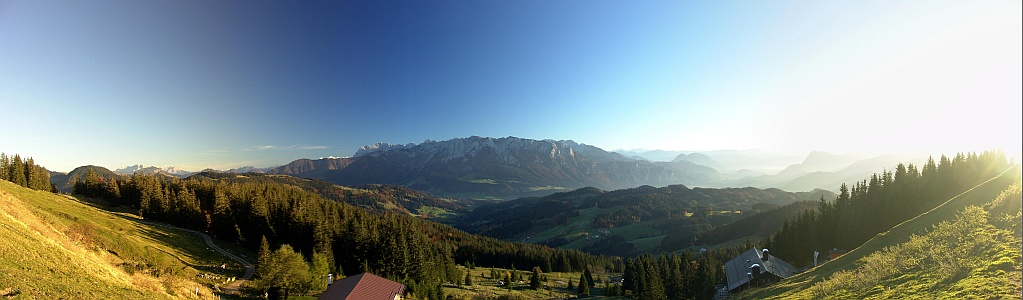 Kaisergebirge bei Kaiserwetter