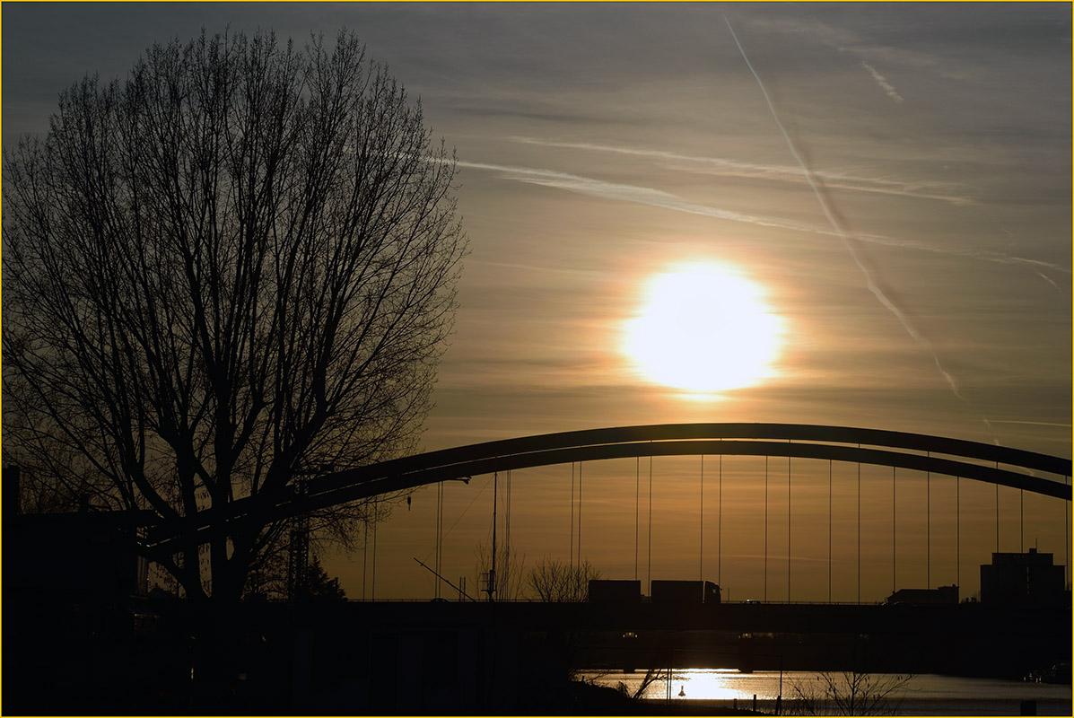 Kaiserleibrücke Offenbach/Frankfurt