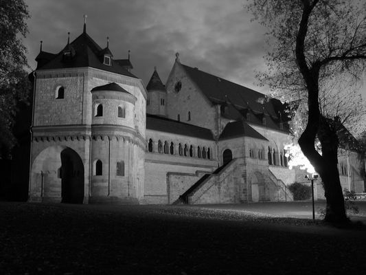 Kaiserpflalz Goslar in SW