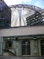 Kaisersaal und Segel im Sony-Center