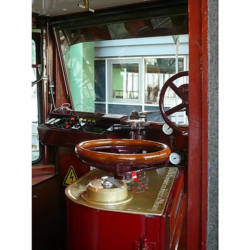 Kaiserwagen ist eine original erhaltene Zuggarnitur aus dem Jahr 1900 (a)