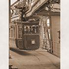Kaiserwagen ist eine original erhaltene Zuggarnitur aus dem Jahr 1900 (b)