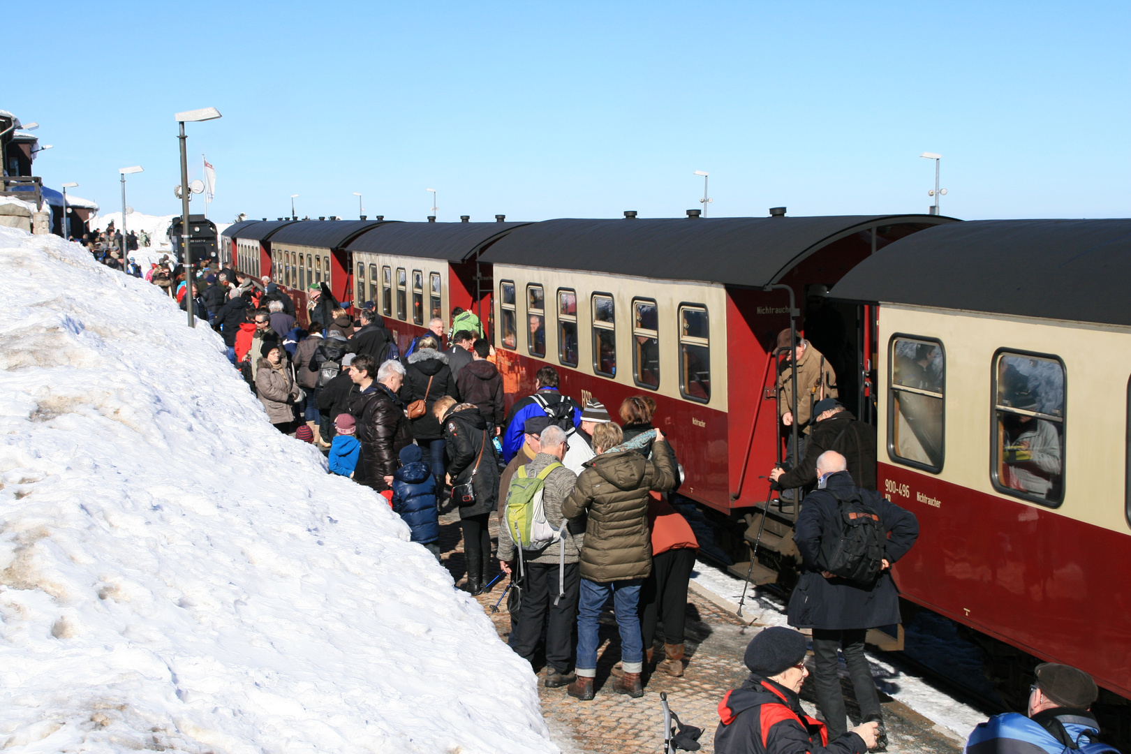 Kaiserwetter lässt Touristen strömen