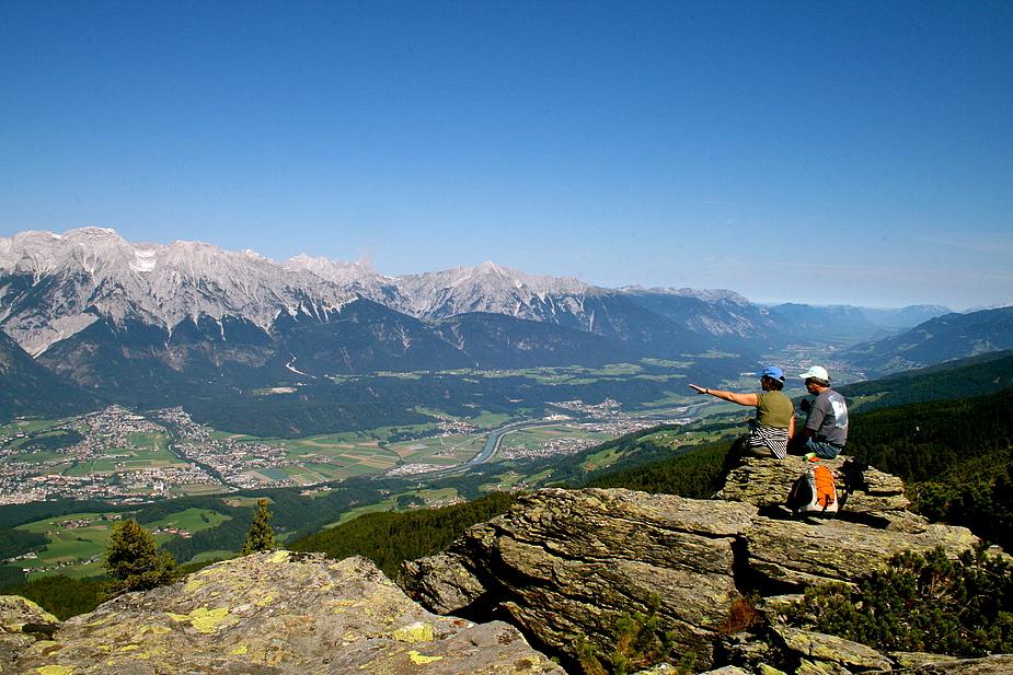 Kaiserwetter über Tirol