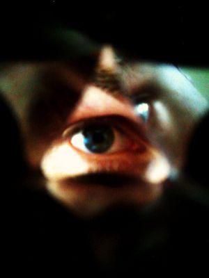 kaleidoscopic eye
