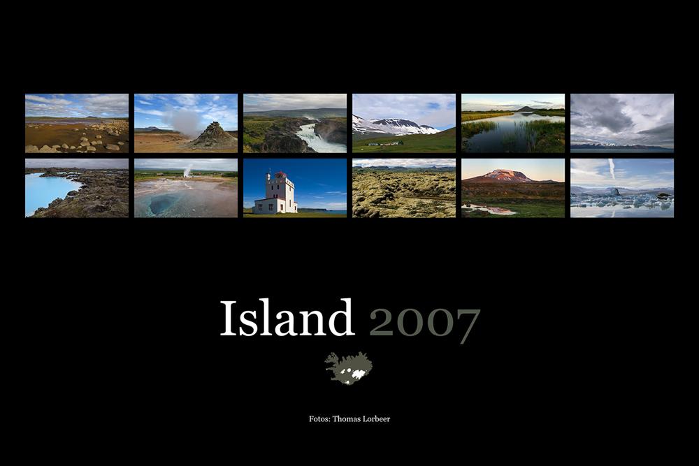 Kalender Island 2007