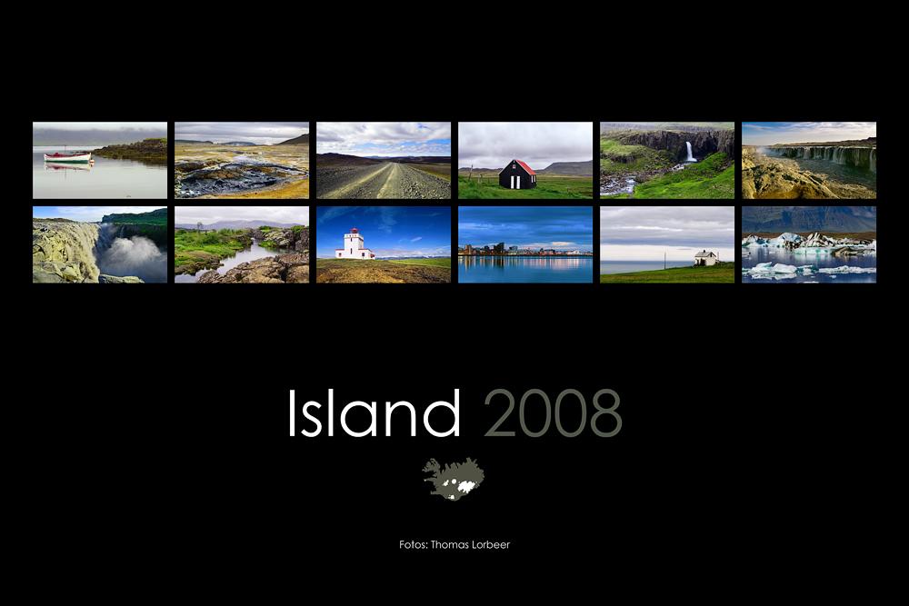 Kalender Island 2008