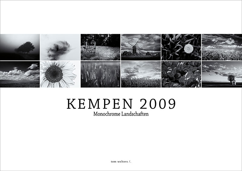 "Kalender ""Kempen 2009 "" tom wolters /."