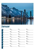 Kalender Walensee 2014: Januar