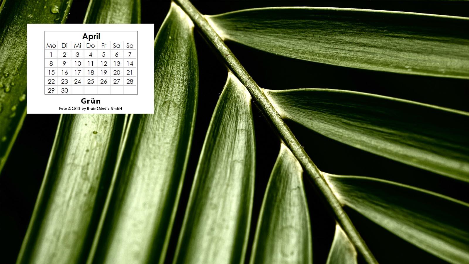 Kalenderbild April 2013