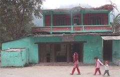 Kali Gandaki Einstiegsbrücke in Ramdi: Das Hotel Shanti