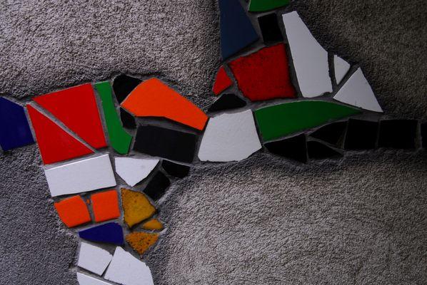 Kalke-mosaic,fragment