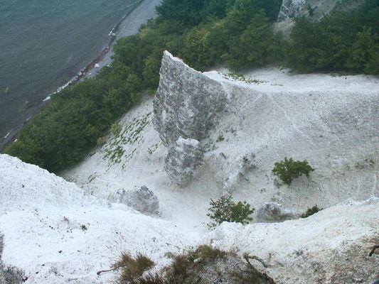 Kalkfelsen auf Rügen