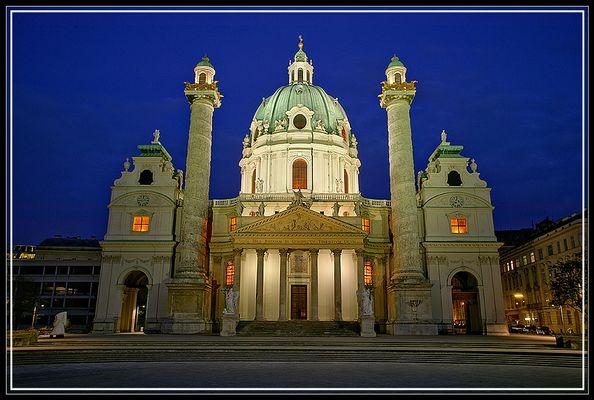 Kalrskirche in Wien!
