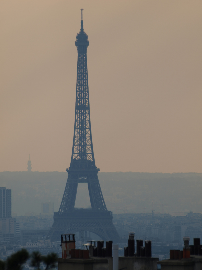 kalt ...schön...Paris