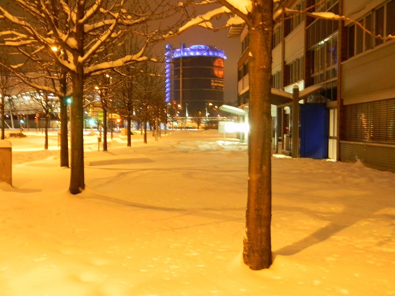 Kalt und ungewöhnlich viel Schnee