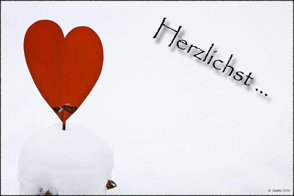 Kalte aber Herzliche Grüße..