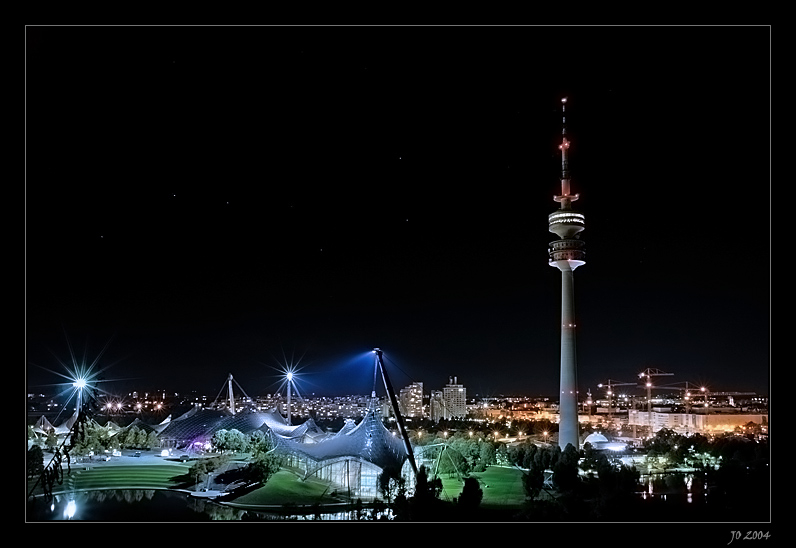 kalte Nacht im Olympiapark [2]