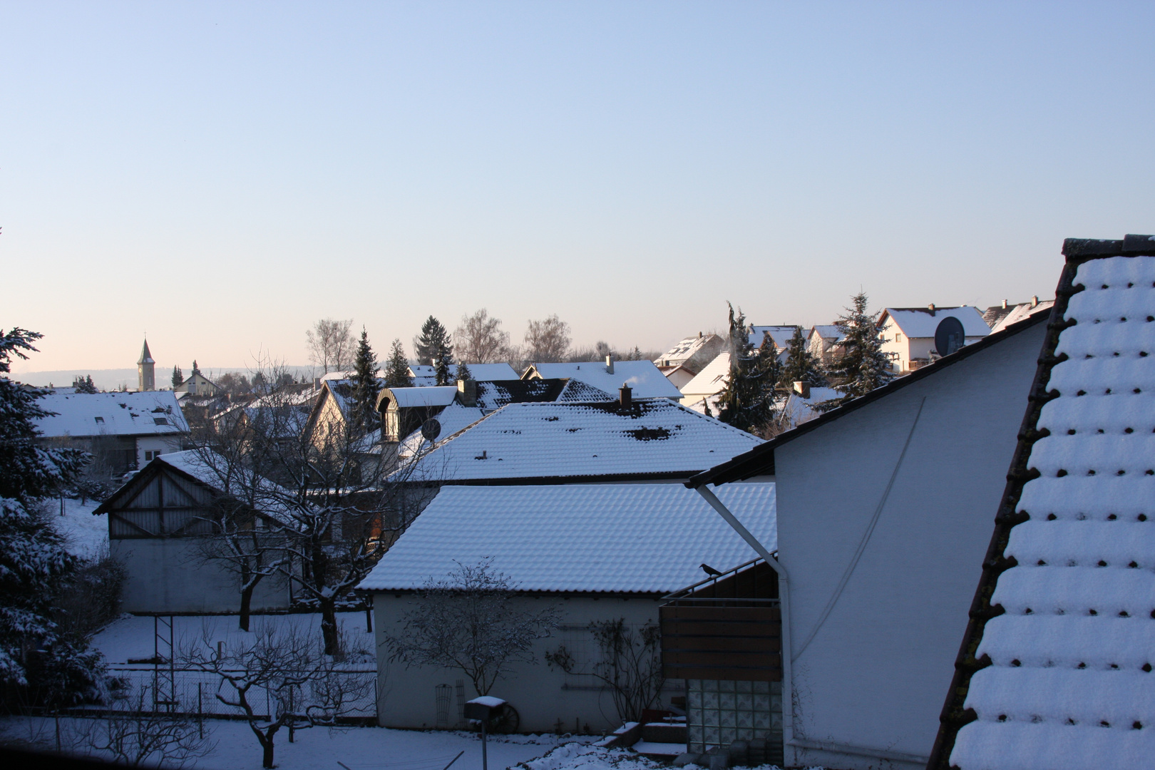 Kalter Februarmorgen