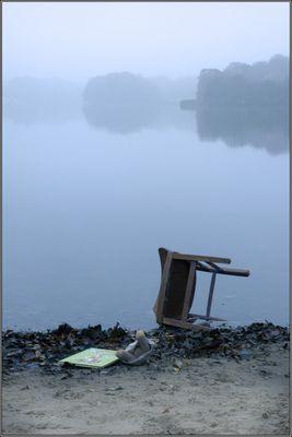 Kalter Morgen am See