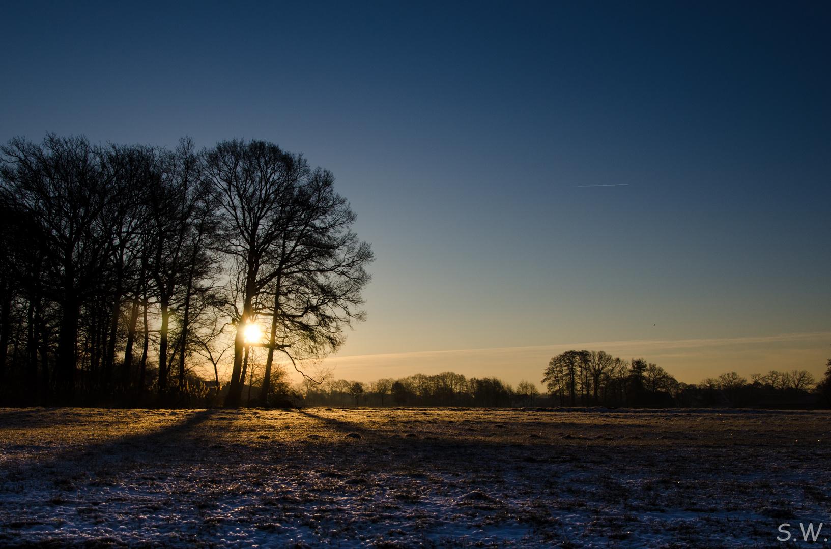 Kalter Morgengruß