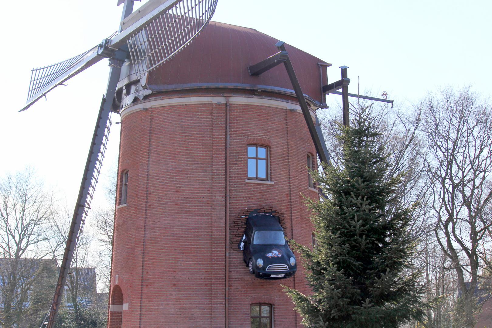 Kam ein Auto geflogen....