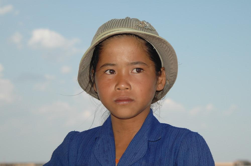 Kambodia Junge Khmerin