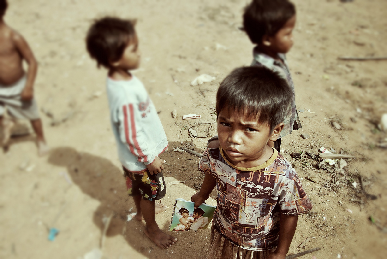 Kambodschanischer Junge