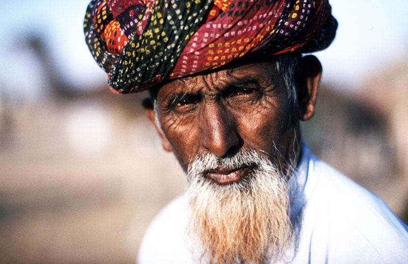 Kamelhändler in Rajasthan (Indien)