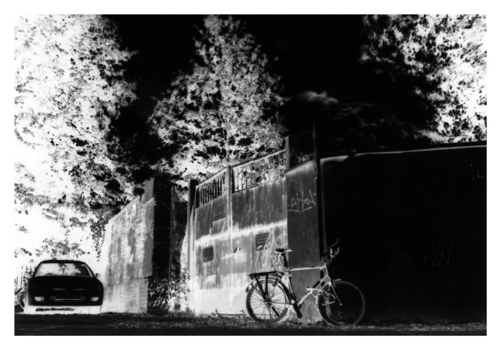 Kamera Obscura - vor der Schule