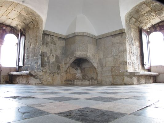 Kamin im Torre de Belem