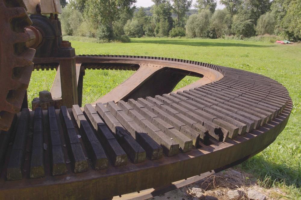 Kammrad des Rommelmühlen-Kraftwerks