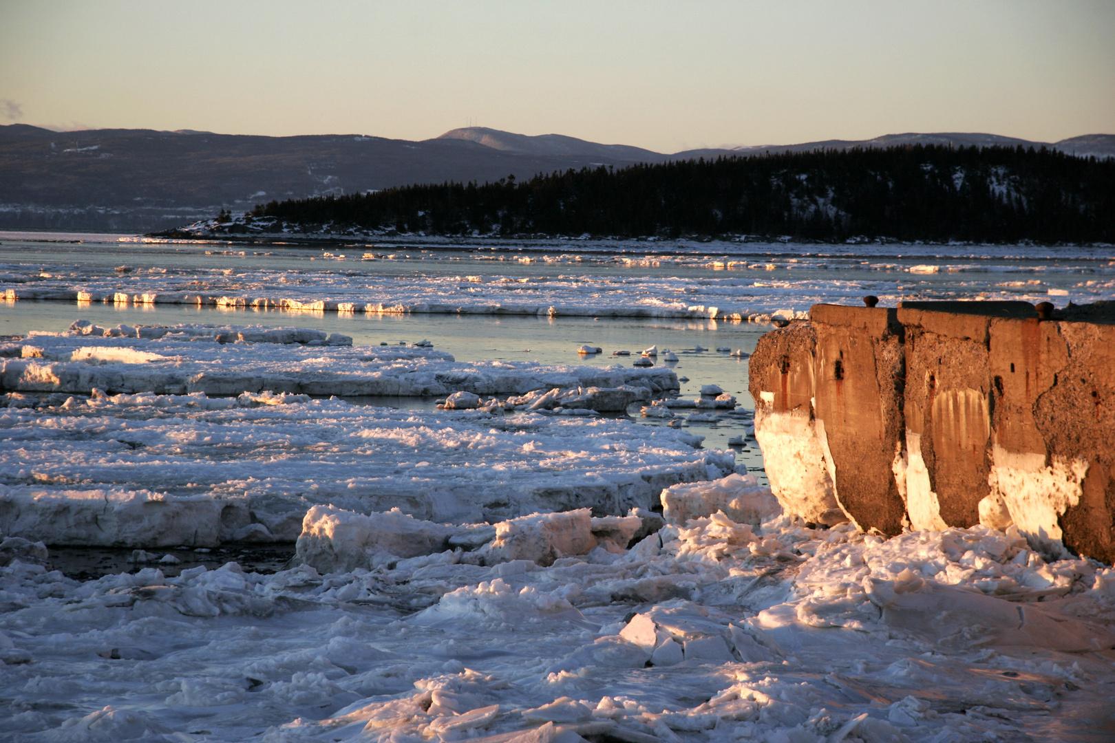 Kamouraska vue de l'ancien port