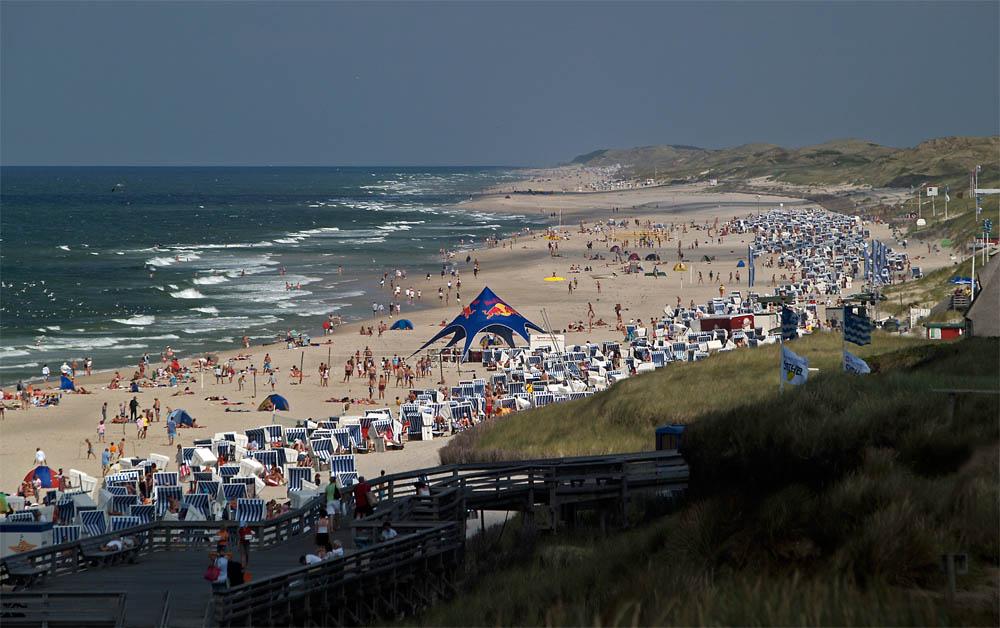Kampen beach life