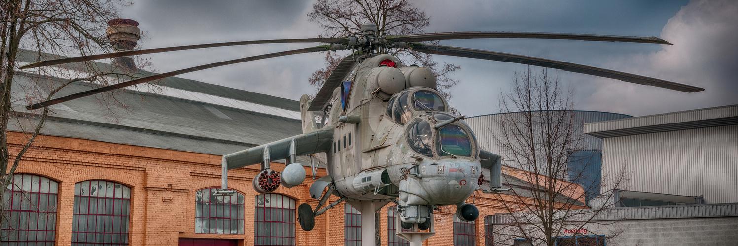 Kampfhubschrauber Mil Mi-24