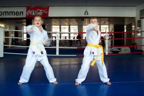 Kampfsport mal ganz jung!