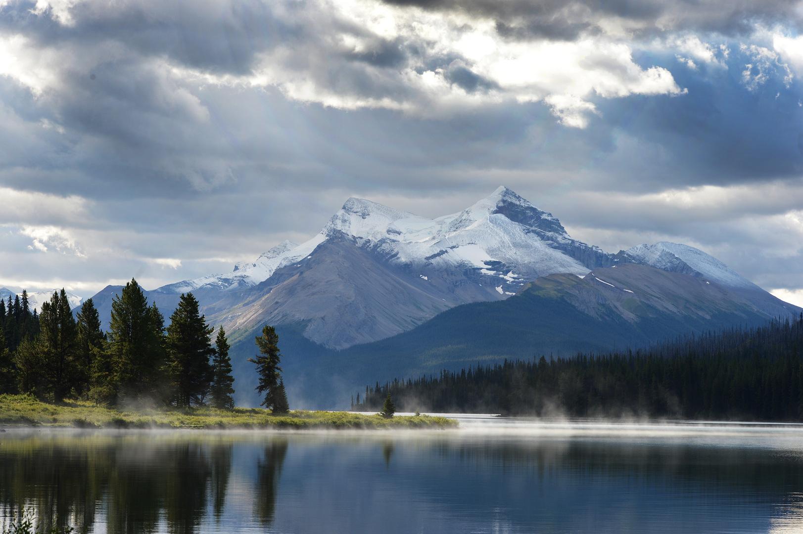 Kanada Maligne Lake 2013