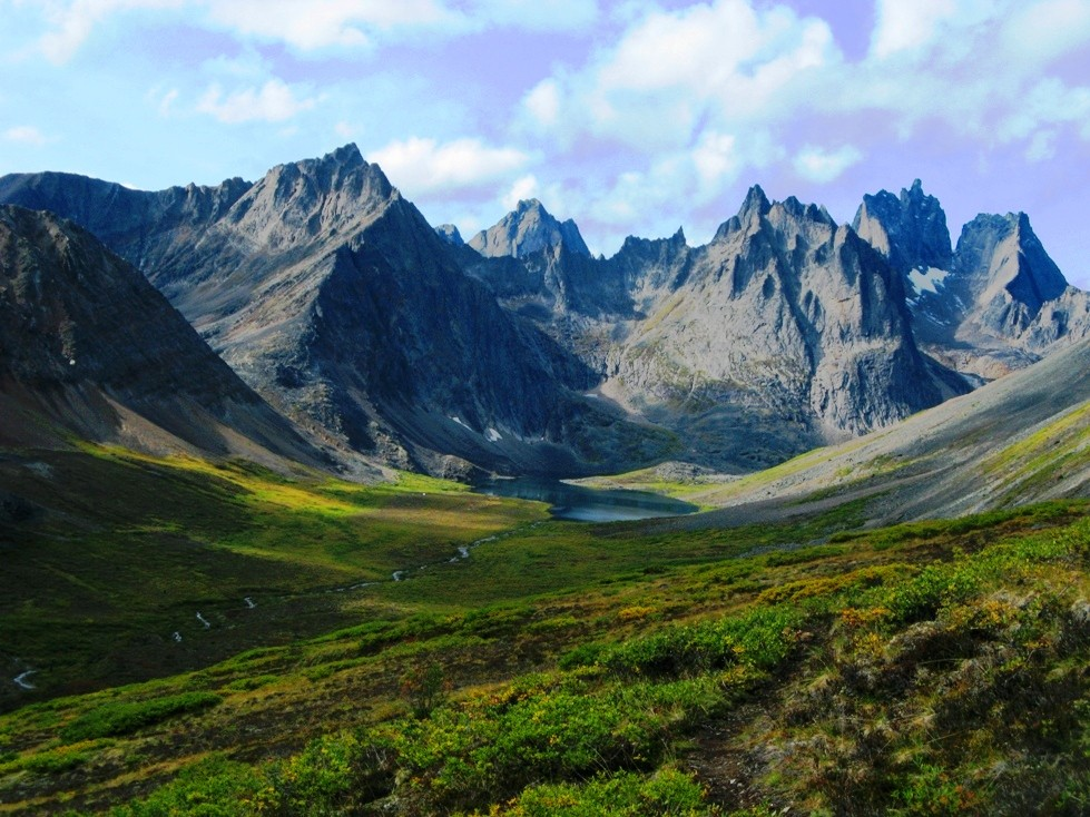 Kanada Yukon /Dempster Highway Thombstone 1