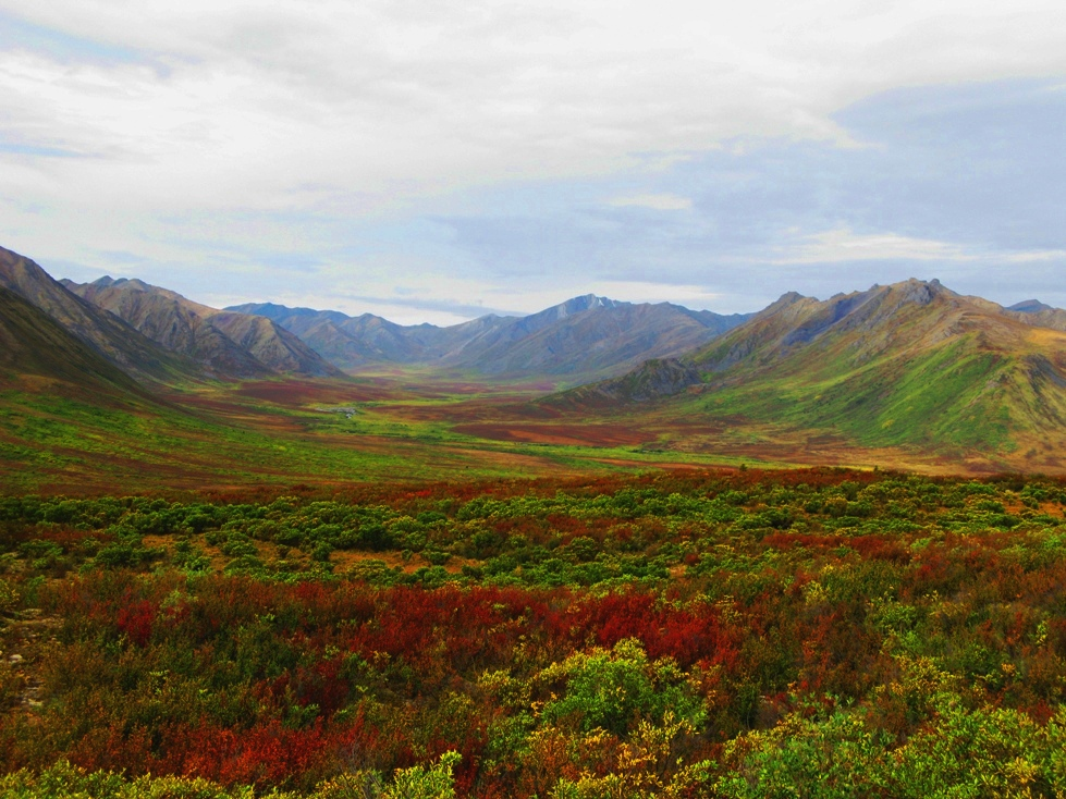 Kanada Yukon /Dempster Highway Thombstone 2