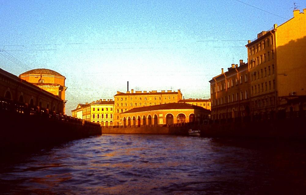 Kanäle in St. Petersburg